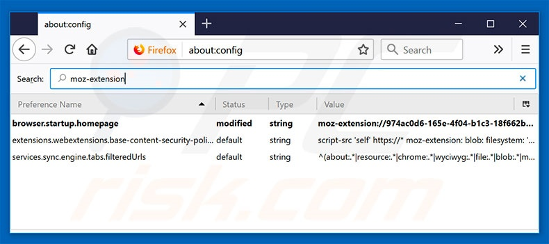 Removing search.hdesignyoursite.com from Mozilla Firefox default search engine