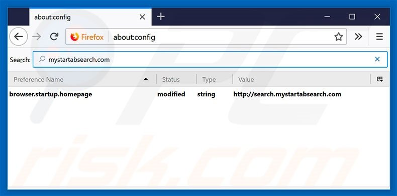 how to remove yahoo search engine from firefox