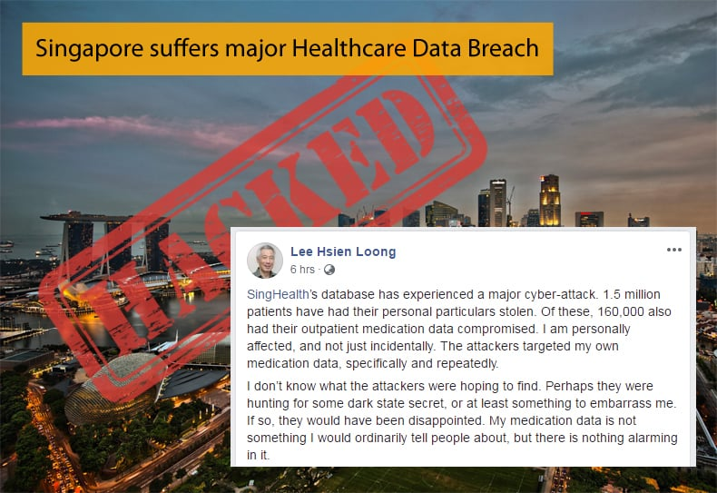 singapore healthcare data breach