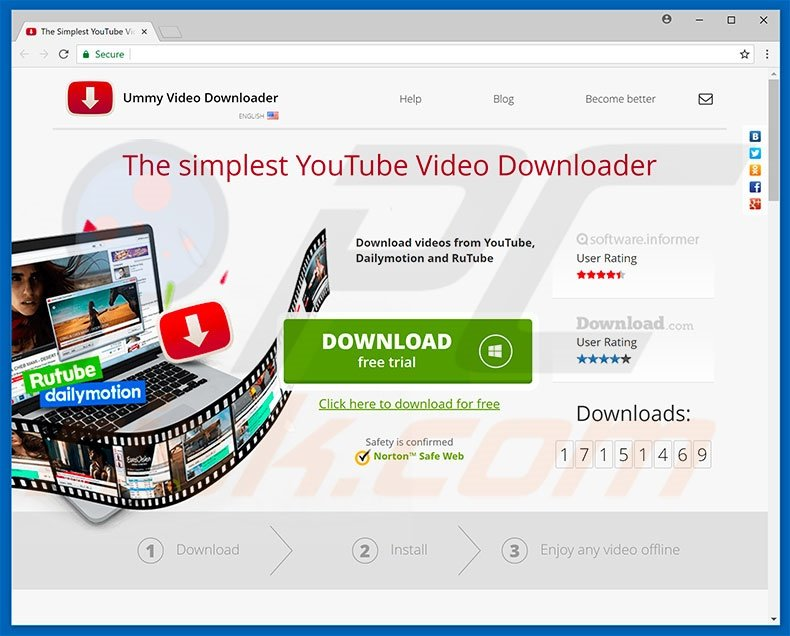 How to uninstall Ummi Video Downloader Adware - virus removal