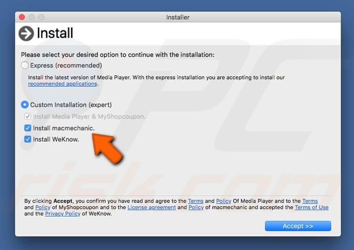 How to get rid of Mac Mechanic Unwanted Application (Mac