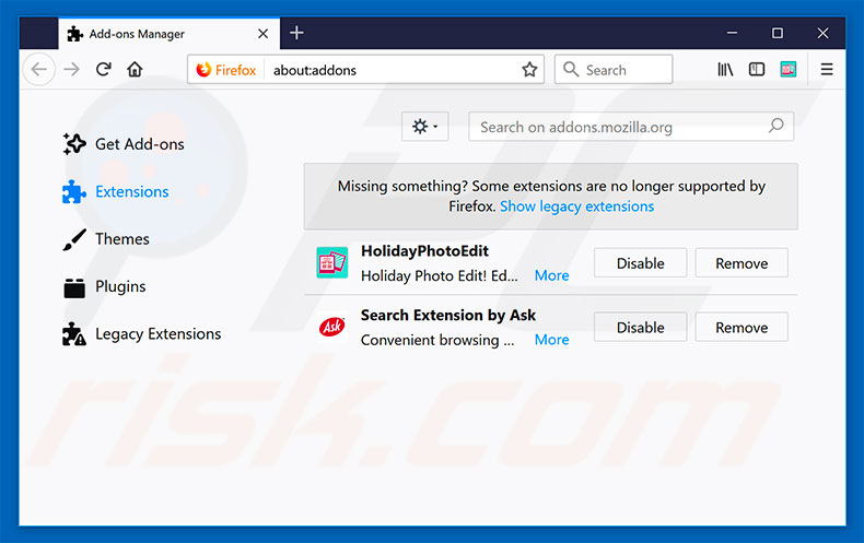 how to get rid of myway on firefox