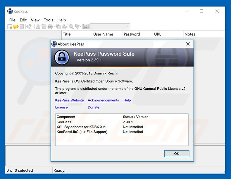 How to uninstall KeePass Virus - virus removal instructions