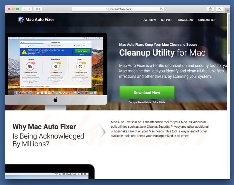 How to get rid of Mac Auto Fixer Unwanted Application (Mac