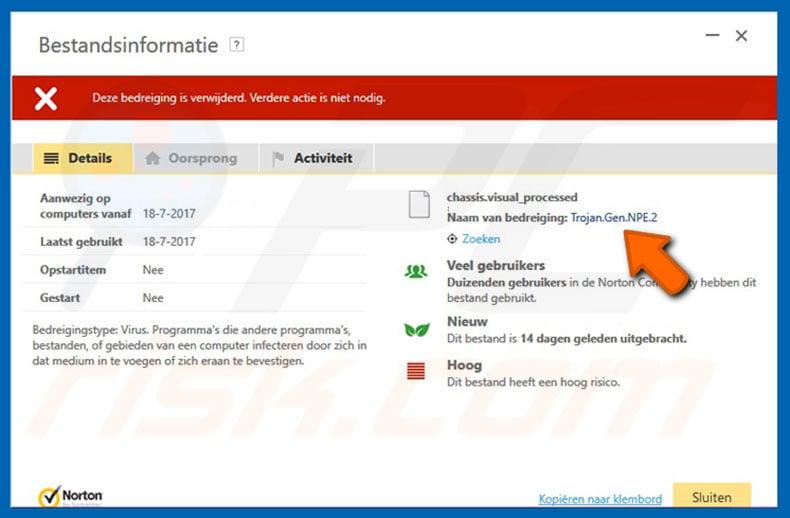 How to remove Trojan.gen.npe.2 Virus - Virus removal instructions
