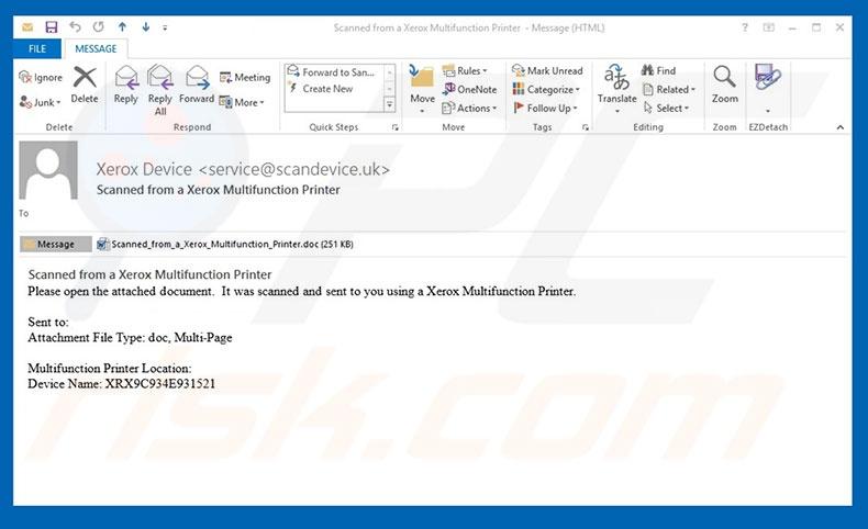 Xerox Email
