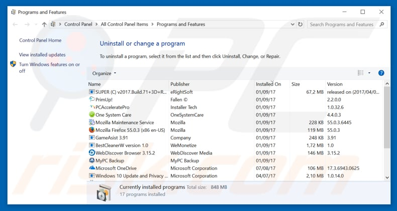 how to tell if windows is blocking program