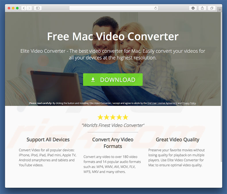 How to get rid of Elite Video Converter Adware (Mac) - virus