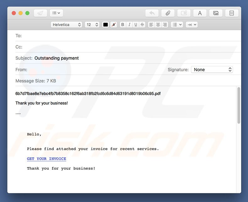 will previewing a document download virus pdf