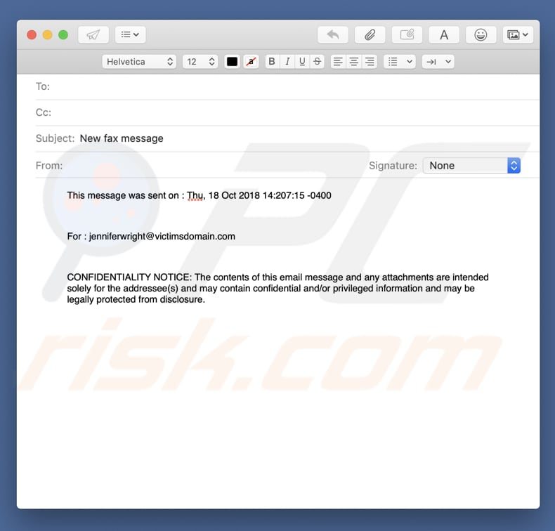 how to remove confidential fax email virus virus removal guide