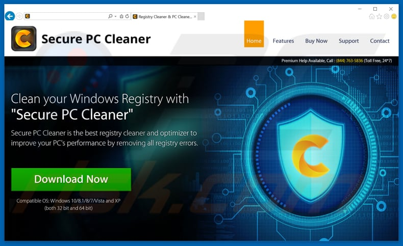 Secure PC Cleaner unwanted application