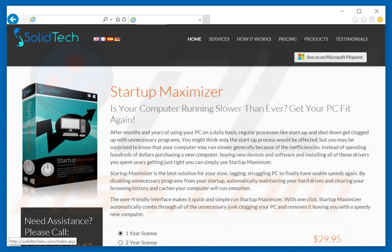 Startup Maximizer unwanted application