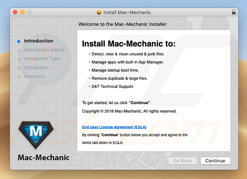 How to get rid of Mac Mechanic Unwanted Application (Mac