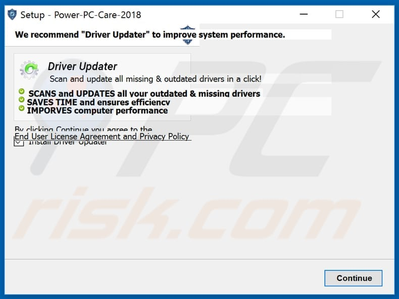 powerpc-bundling driver updater