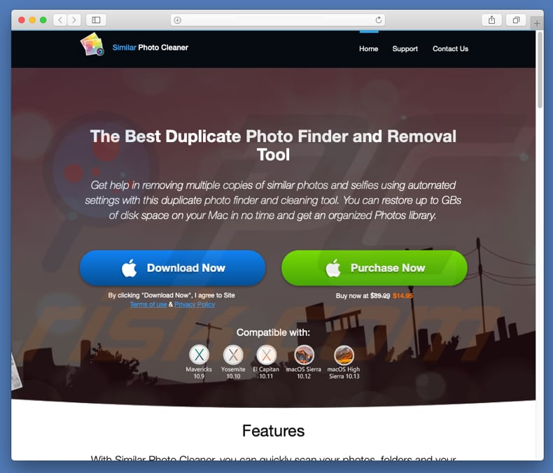 How to get rid of Similar Photo Cleaner Unwanted Application (Mac