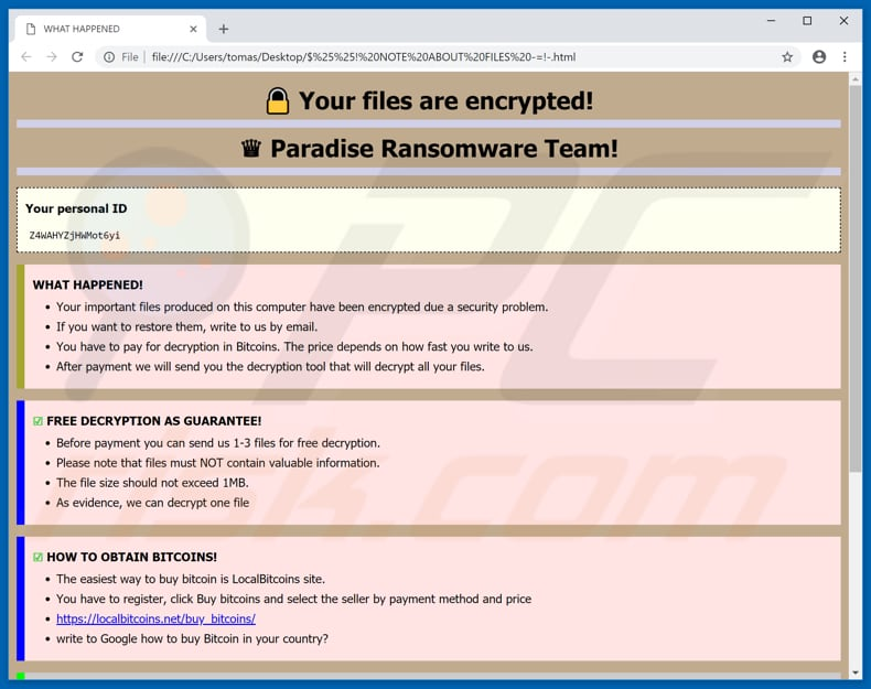 How to remove VACv2 Ransomware - virus removal steps (updated)