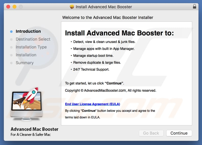 Advanced Mac Booster installer