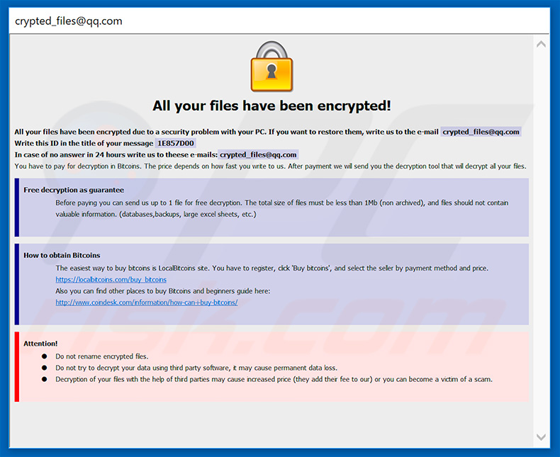 How to remove Aqva Ransomware - virus removal steps (updated)
