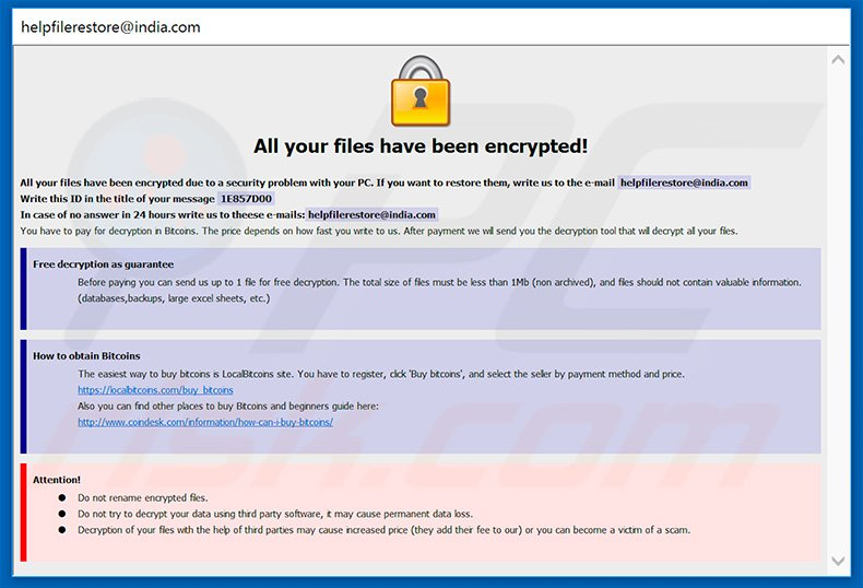 How to remove ETH Ransomware - virus removal steps (updated)