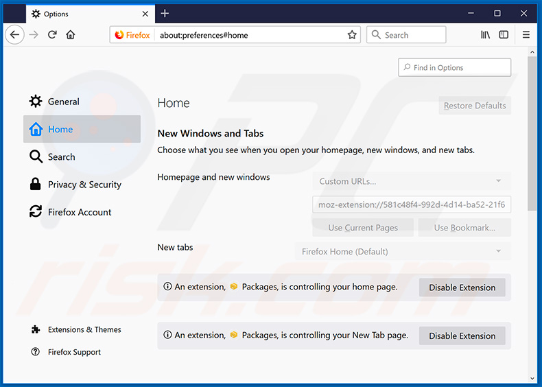 How to get rid of Search hpackagefinder app Redirect - virus removal