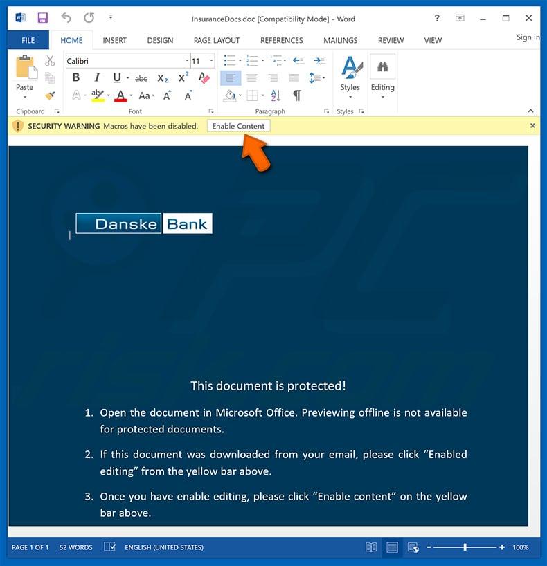 microsoft office remove macros