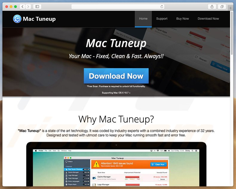 How to get rid of Mac Tuneup Pro Unwanted Application (Mac) - Virus