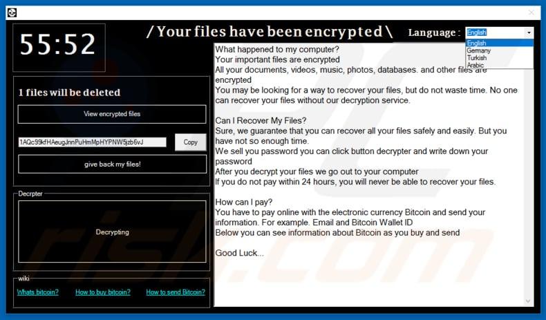 How to remove Oscar Venom Ransomware - virus removal steps