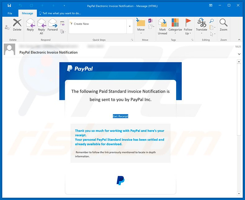 How to remove PayPal Email Virus - virus removal instructions (updated)