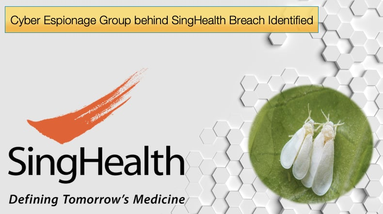 singhealth breatch identified - whitefly hackers group