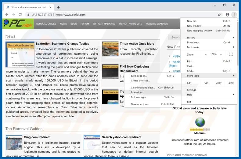 How to remove Azurewebsites net POP-UP Scam - virus removal