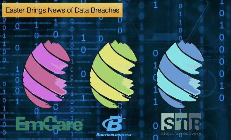 easter brings news of data breaches