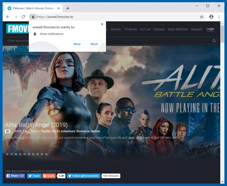 How to uninstall Fmovies Ads - virus removal instructions ...