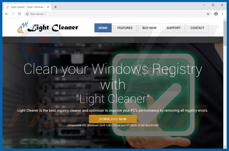 Light Cleaner unwanted application