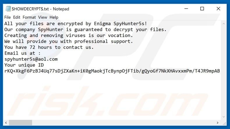 How to remove Spyhunter Ransomware - virus removal steps (updated)