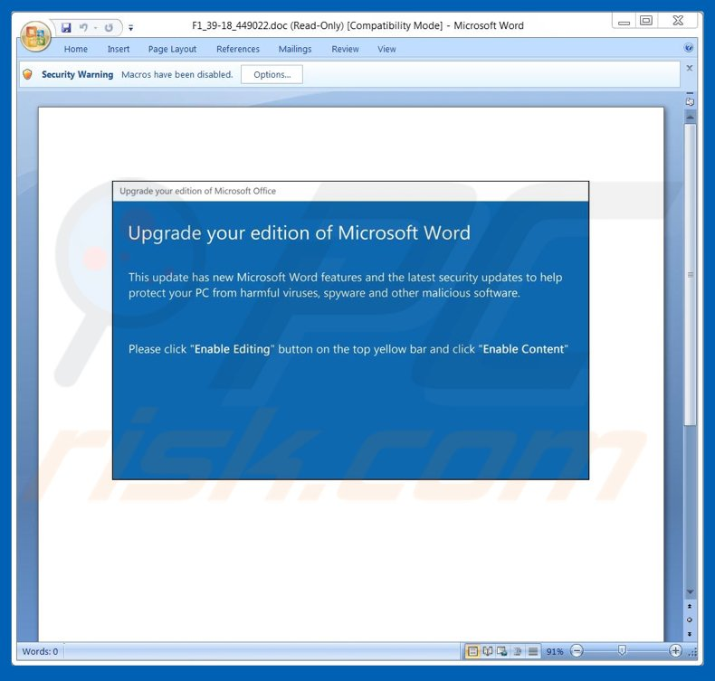 Microsoft Office Upgrade >> How To Remove Upgrade Your Edition Of Microsoft Word Email