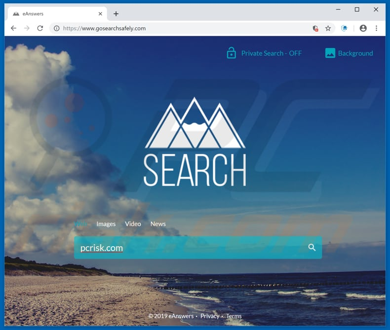 gosearchsafely.com browser hijacker