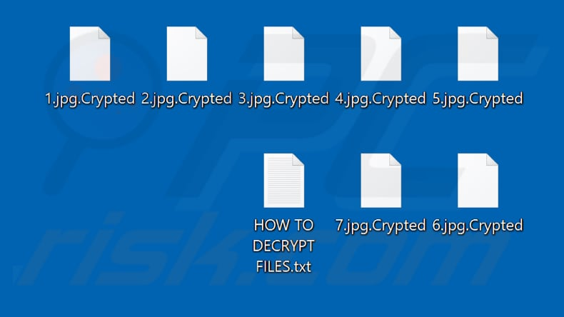 Files encrypted by india2lock