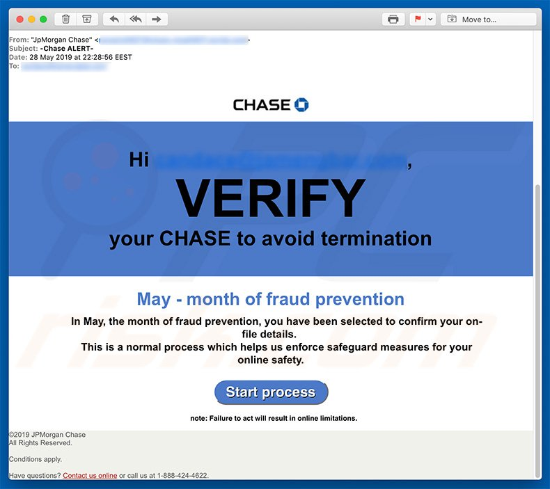 How to remove JPMorgan Chase Email Virus - virus removal