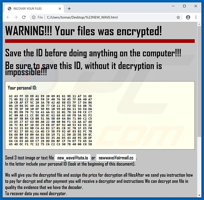 How to remove LotR Ransomware - virus removal steps (updated)