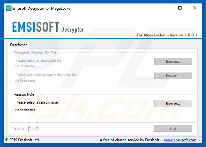 MegaLocker and NamPoHuy ransomware decrypter
