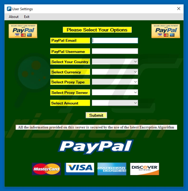 Paypal Hack software, free download For Mac