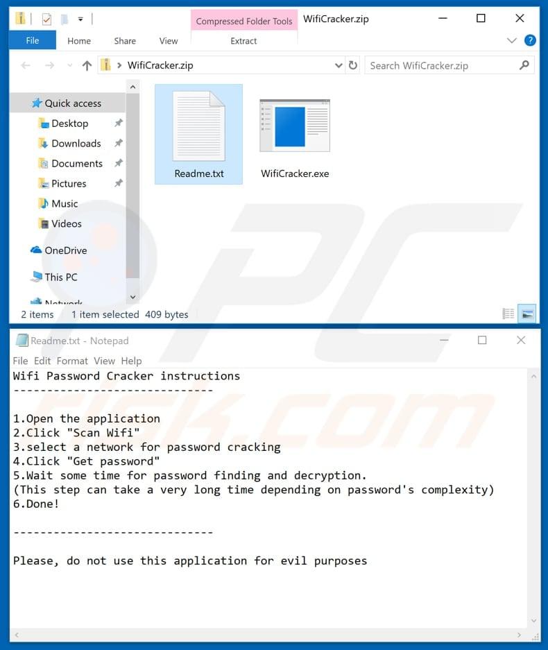 How to remove WiFi Password Cracker Virus - virus removal