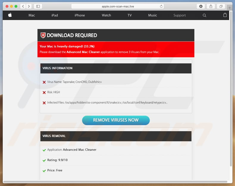 apple.com-scan-mac[.]live fake virus detections
