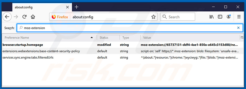 Removing search.hgeteasytemplates.com from Mozilla Firefox default search engine