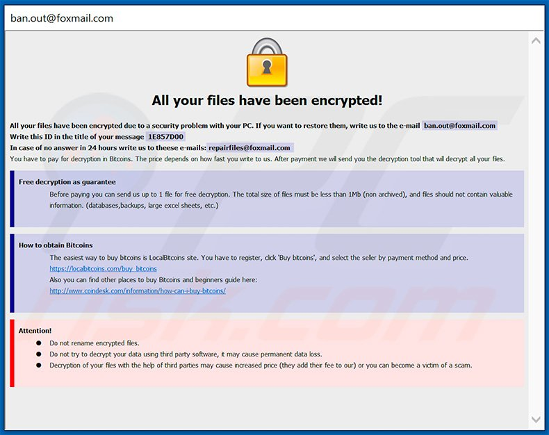 How to remove Harma Ransomware - virus removal steps (updated)
