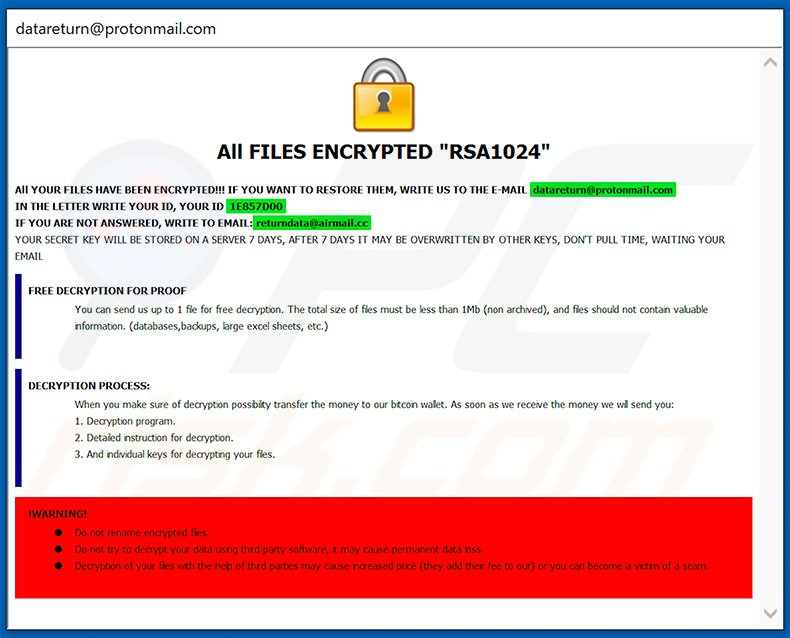 How to remove Kjh Ransomware - virus removal steps (updated)
