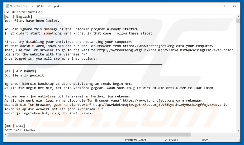 How to remove [LOCKED] Ransomware - virus removal steps (updated)