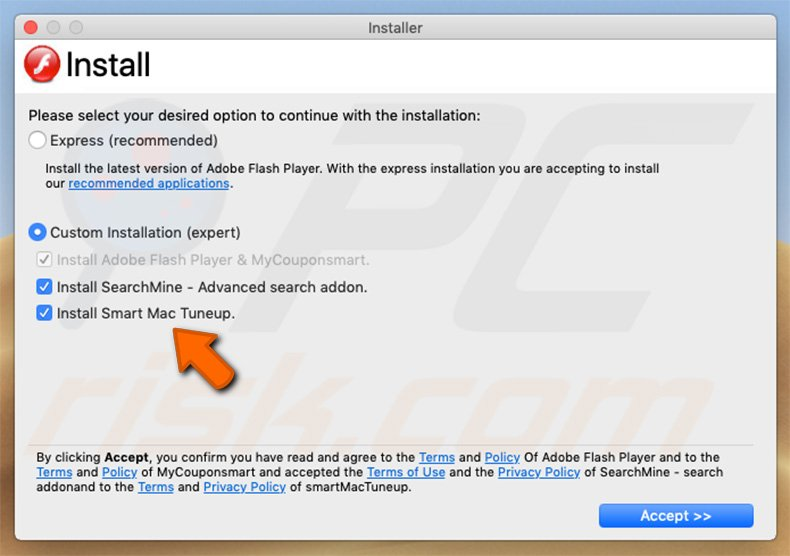 How to get rid of Smart Mac Tuneup Unwanted Application (Mac