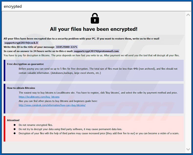 How to remove Adame Ransomware - virus removal steps (updated)