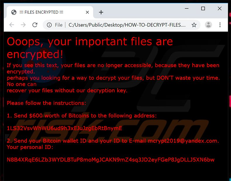 How to remove  exe Ransomware - virus removal steps (updated)